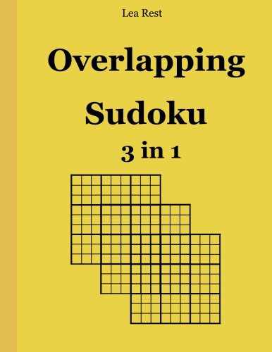 9783954973668: Overlapping Sudoku 3 in 1