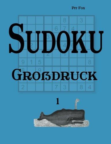 9783954974078: Sudoku Großdruck 1