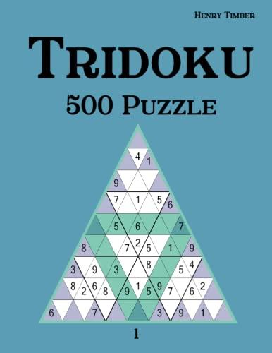 9783954976430: Tridoku 500 Puzzle 1 (German Edition)