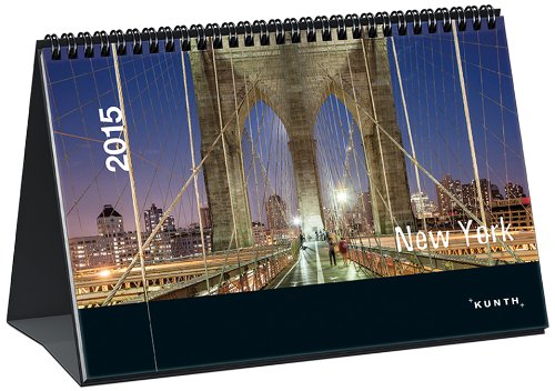 9783955040642: New York 2015 KUNTH Tischkalender