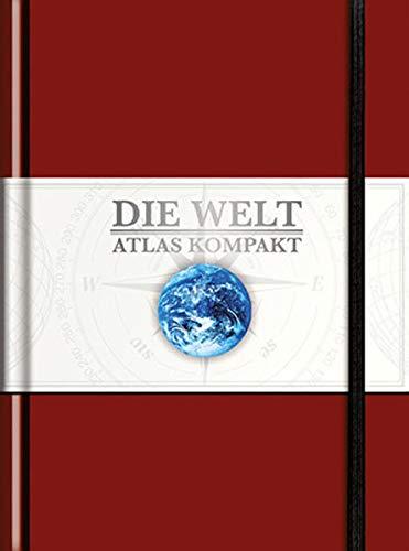9783955041359: KUNTH Taschenatlas Die Welt - Atlas kompakt, rot