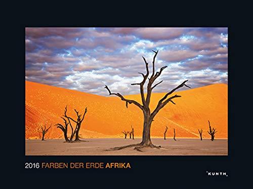 9783955041588: Die Farben der Erde: Afrika 2016 KUNTH Wandkalender Black Edition