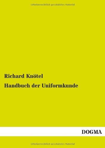 9783955070441: Handbuch der Uniformkunde (German Edition)