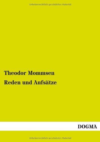 Reden und Aufsätze - Mommsen, Theodor