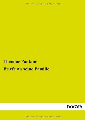 9783955076948: Briefe an Seine Familie (German Edition)