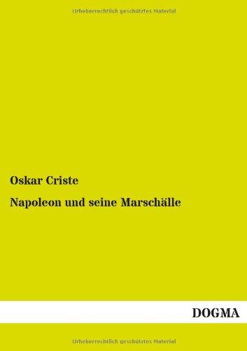 9783955077570: Napoleon Und Seine Marschalle