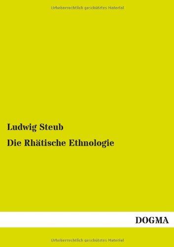 9783955077945: Die Rhatische Ethnologie
