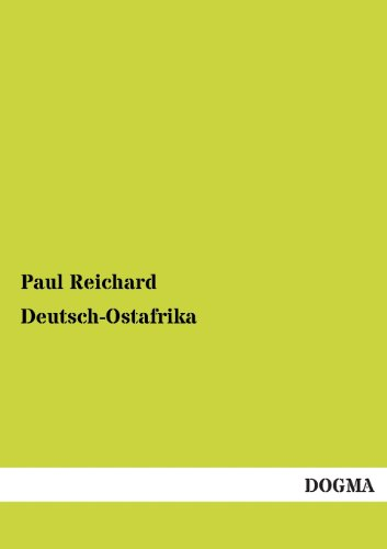 9783955079550: Deutsch-Ostafrika (German Edition)