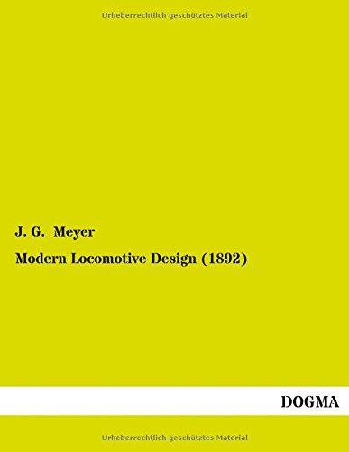 9783955079710: Modern Locomotive Design (1892)