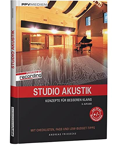 Studio Akustik: Konzepte fur besseren Klang: Andreas Friesecke
