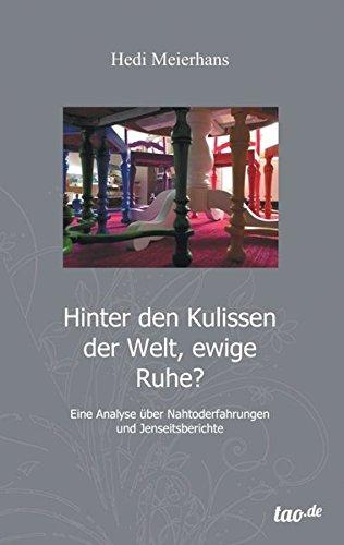 9783955293420: Hinter Den Kulissen Der Welt, Ewige Ruhe?