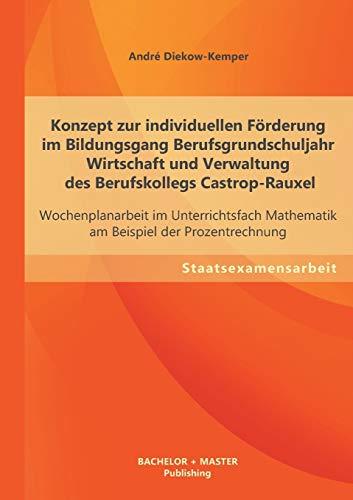 Konzept zur individuellen FÃ rderung im Bildungsgang: Diekow-Kemper, AndrÃ