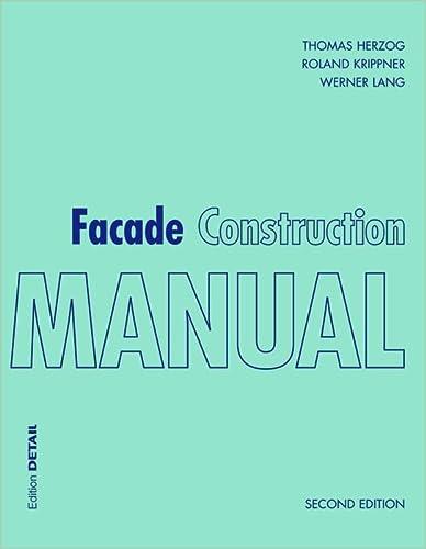 9783955533694: Facade Construction Manual (Construction Manuals)