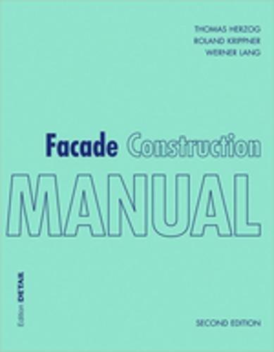 9783955533694 facade construction manual construction manuals rh abebooks com Facade Wall Storefront Facade Construction