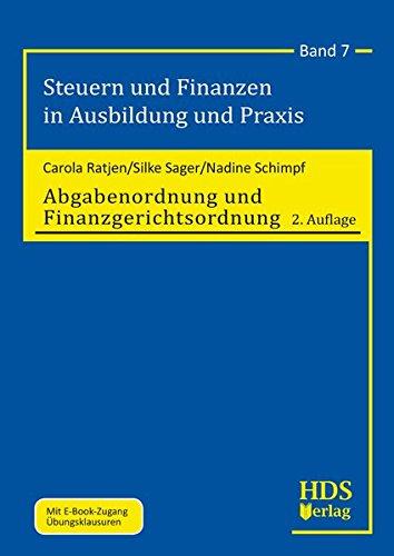 Abgabenordnung und Finanzgerichtsordnung: Carola Ratjen