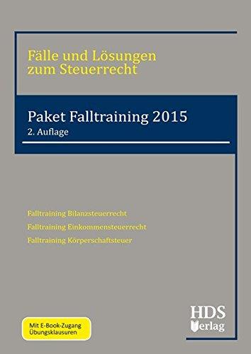 Paket Falltraining 2015, 3 Bde.: Thomas Arndt