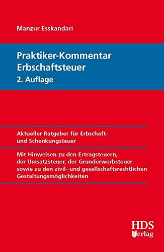 9783955541309: Praktiker-Kommentar Erbschaftsteuer, 2. Auflage