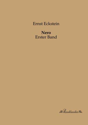Nero: Erster Band (Paperback): Ernst Eckstein