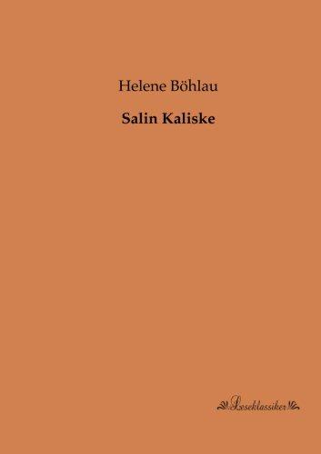 Salin Kaliske (Paperback): Helene Bohlau