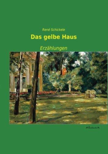 9783955633516: Das gelbe Haus: Erzaehlungen (German Edition)