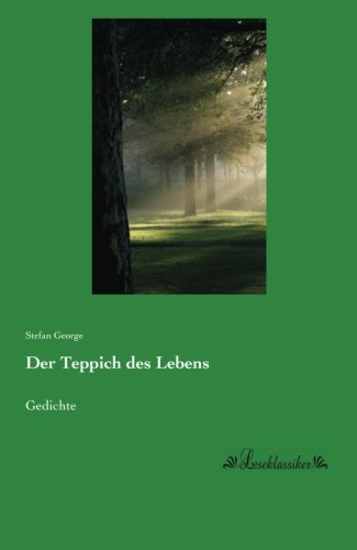 9783955635107: Der Teppich des Lebens: Gedichte (German Edition)