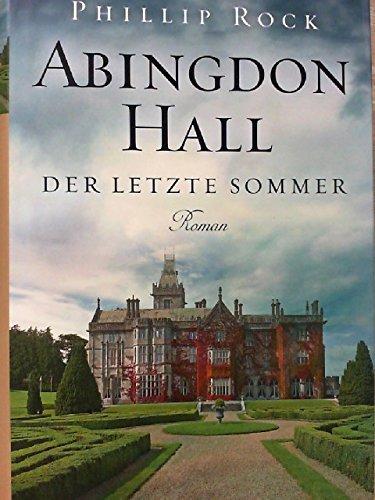 9783955690595: Abingdon Hall - Der letzte Sommer