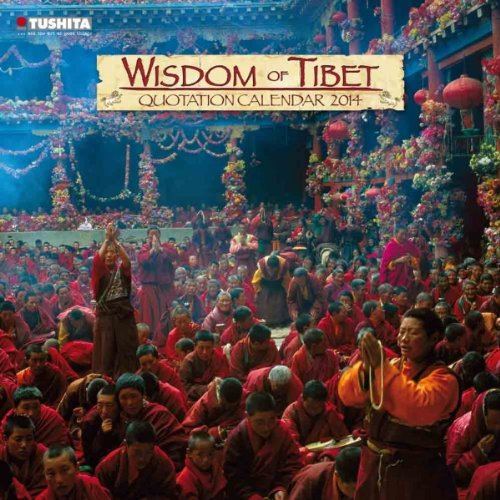 9783955700058: Wisdom of Tibet 2014 (Mindful Editions)