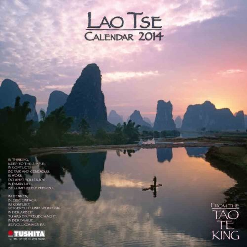 9783955700133: Lao Tse Calendar 2014. Mindful edition: From the Tao te King (Mindful Editions)