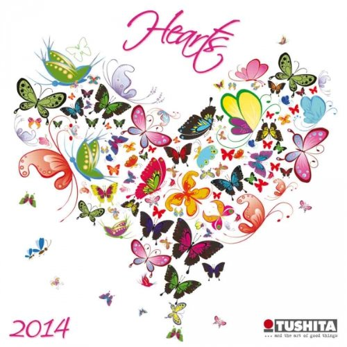 9783955702328: Hearts 2014 (Mini Calendars)