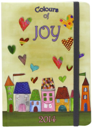 9783955702380: Colours of Joy: Graphic 2014 (Unisize Agenda)