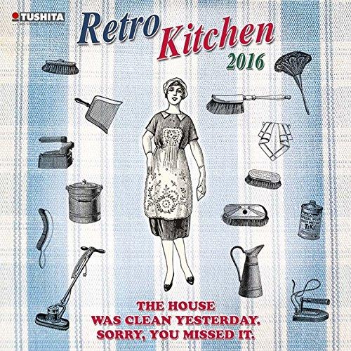 9783955707637: Retro Kitchen 2016 Media Illustration: Freche Spr�che