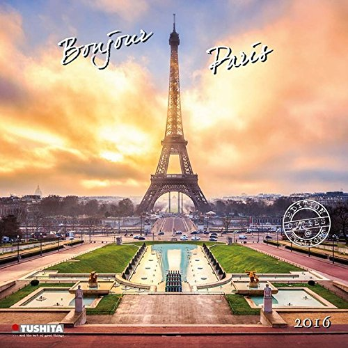9783955708016: Bonjour Paris (160353) (English, Spanish, French, Italian and German Edition)