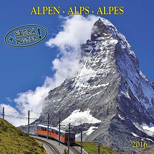 9783955708689: Alpen - Alps - Alpes 2016 Artwork