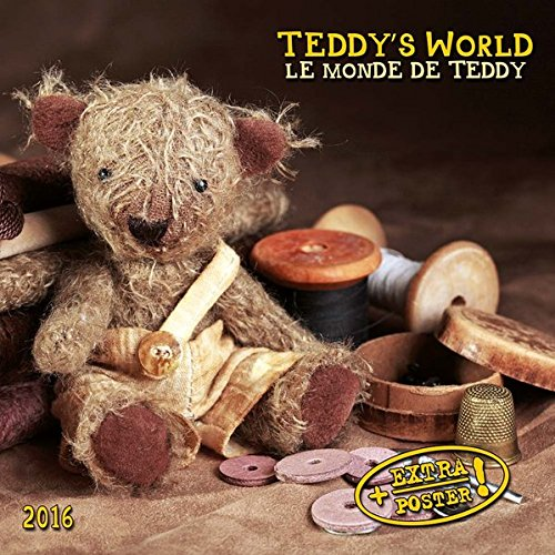 Teddy's World 2016: Kalender 2016 (Artwork)