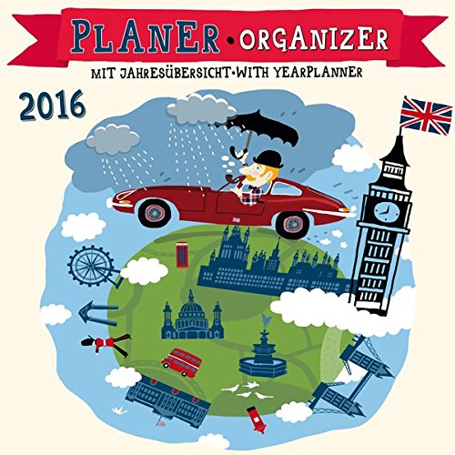 9783955708979: Planer - Hello London 2016: Kalender 2016