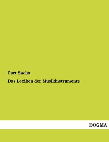 9783955800857: Das Lexikon Der Musikinstrumente