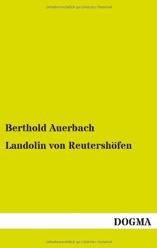 9783955803247: Landolin Von Reutershofen