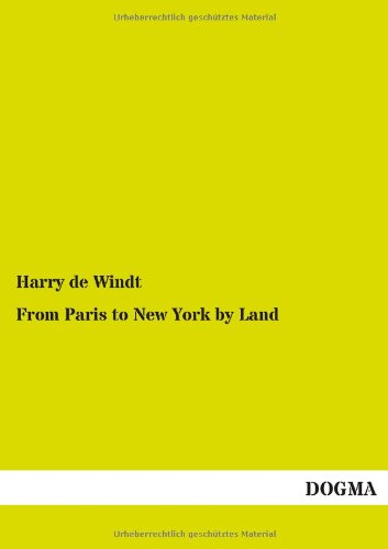 9783955803599: From Paris to New York by Land