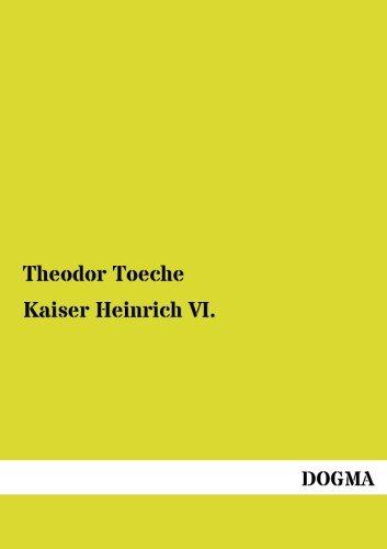 9783955808495: Kaiser Heinrich VI.
