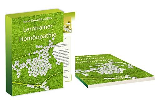 9783955820466: Lerntrainer Homöopathie: 100 Lernkarten mit Arzneimitteln von A-Z plus Arbeitsbuch mit Grundlagenwissen und Prüfungsfragen