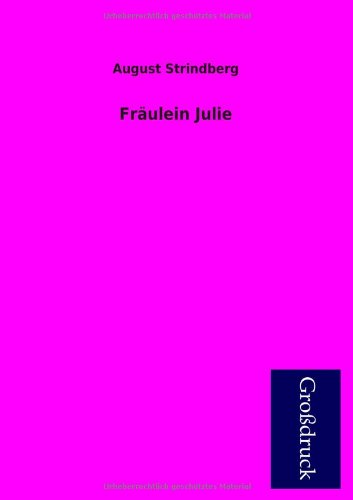 9783955840648: Fraulein Julie (German Edition)
