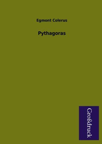 Pythagoras: Egmont Colerus