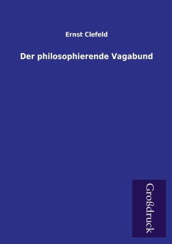 9783955841355: Der philosophierende Vagabund