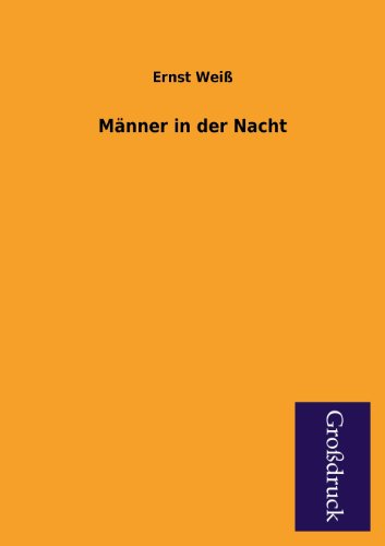 9783955841478: Manner in Der Nacht