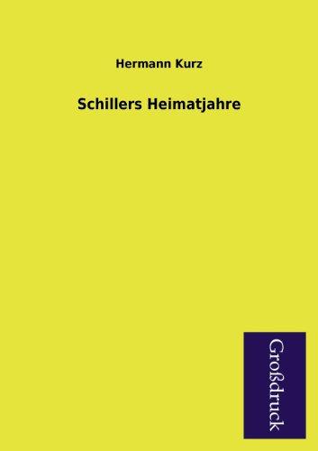 Schillers Heimatjahre: Hermann Kurz