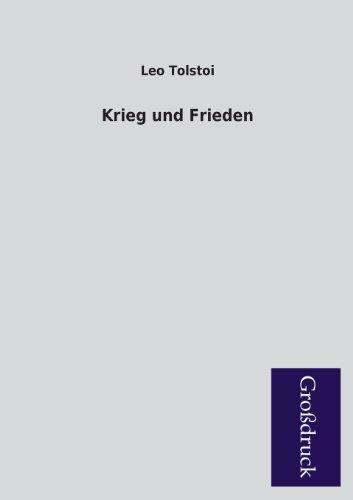 Krieg Und Frieden (German Edition): Tolstoy, Leo Nikolayevich