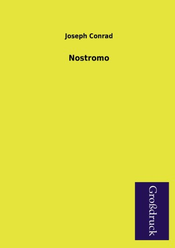 Nostromo (German Edition) (3955841820) by Conrad, Joseph