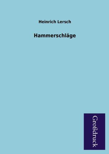 Hammerschlage: Heinrich Lersch