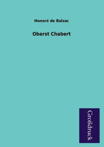 9783955842956: Oberst Chabert (German Edition)