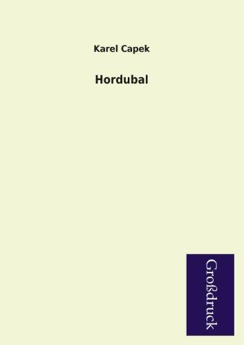 9783955843335: Hordubal (German Edition)